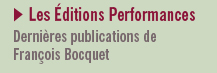 Les Editions Performances